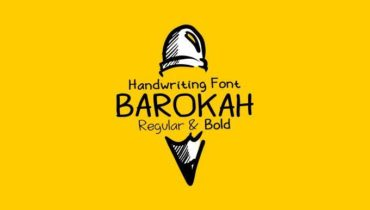 Barokah – Free handwriting font