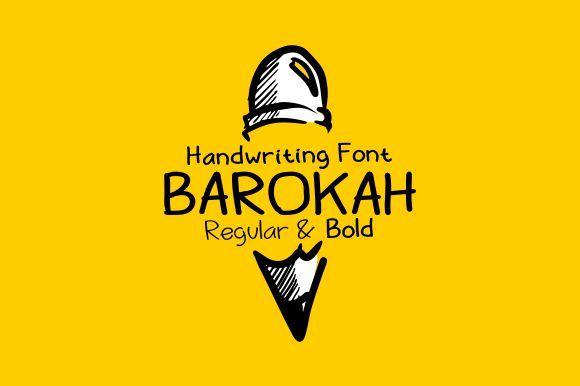 Barokah – Free handwriting font