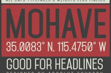 mohave-typefaces