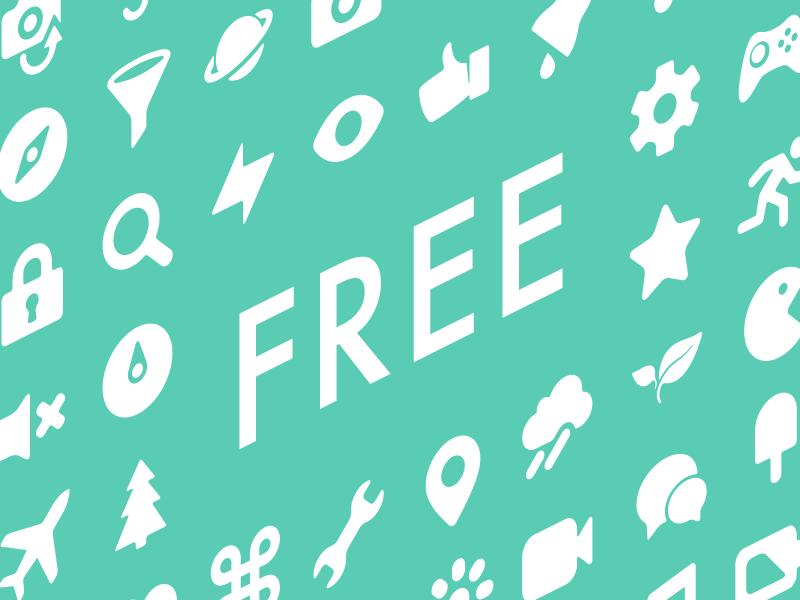 Icony - Free pixel-perfect vector icons set