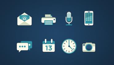 Simple Flat Icons by Dan Tran