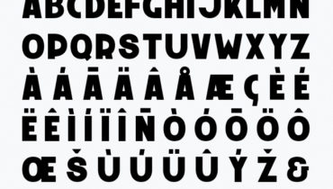 Monolith – free typeface