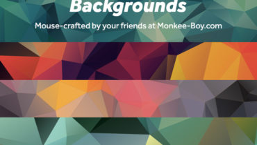 A free set of 25 Colorful Polygon Background