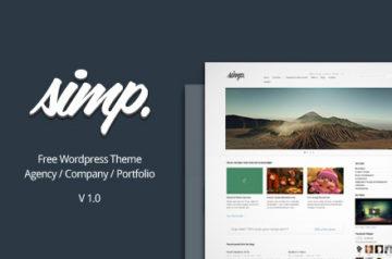 Simp – Free Agency WordPress Theme