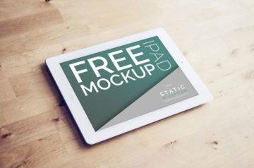 Free iPad Mockup PSDs