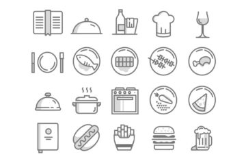 20 Free Food Icons