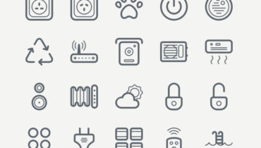 Smart House Free Icon Set