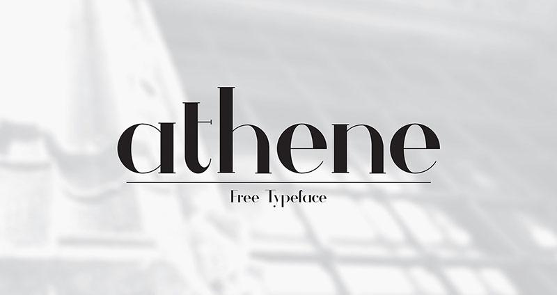 Athene Font Download