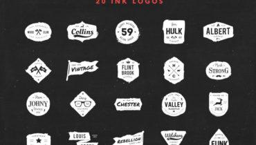 20-free-vector-ink-logos