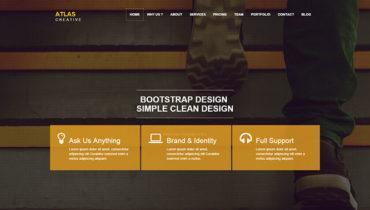 Atlas Responsive HTML5 Theme