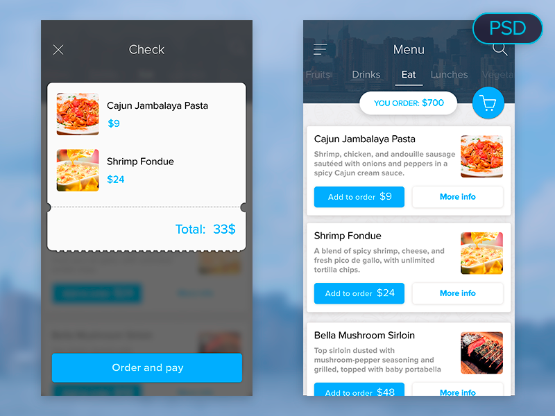 food-menu-ui