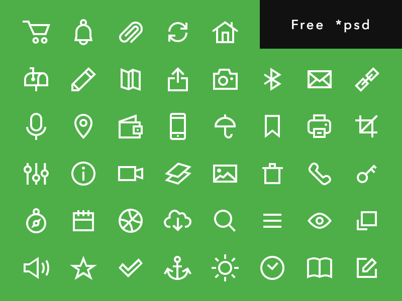 Uniicons - Free Line Icons