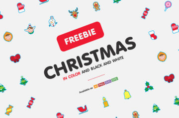 Free Set of Gorgeous Christmas Icons