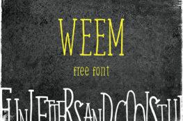 Weem - Free Font